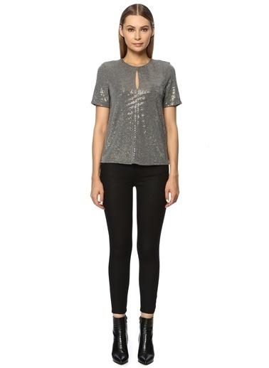 NetWork Kadın 1070819 Regular Fit Bluz Altın